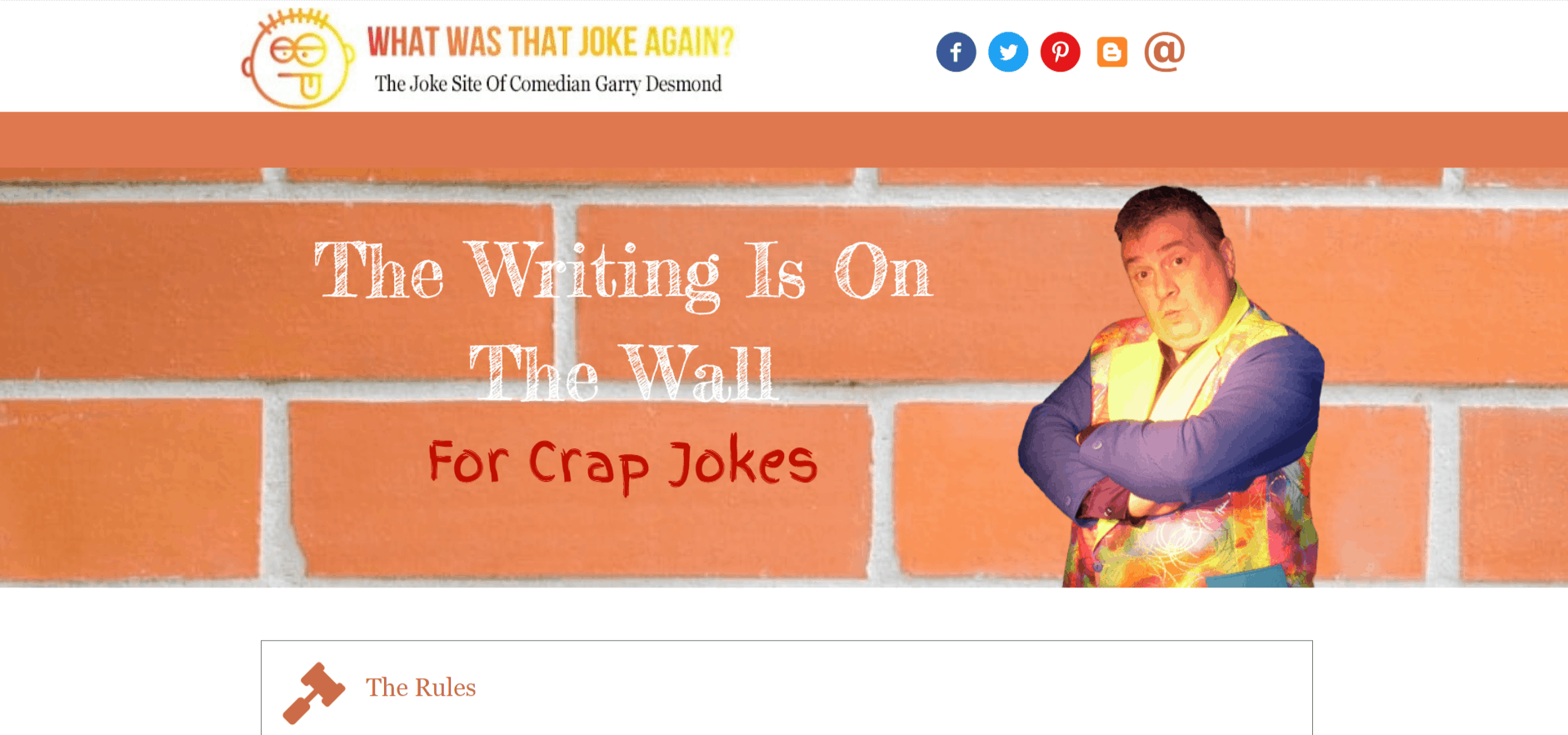 What was that joke again